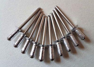 10 Stk. Mehrbereichs- Senkkopfnieten rostfrei, 4,8 x 12mm