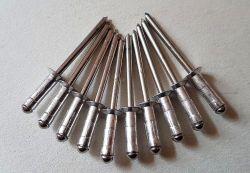 10 Stk. Mehrbereichs- Senkkopfnieten rostfrei, 4,8 x 17mm